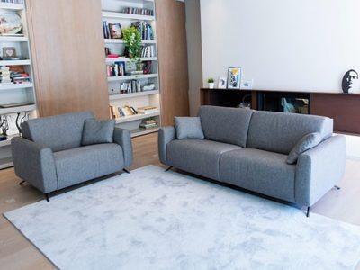 Canapé design tissu personnalisable Fama Atlanta