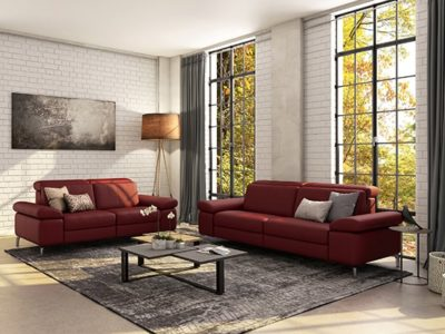 Canapé moderne relax sur lesure Dahlia