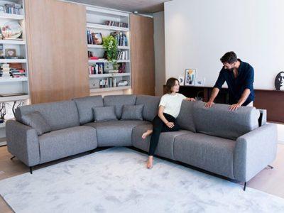 Canapé angle design personnalisable Fama Atlanta