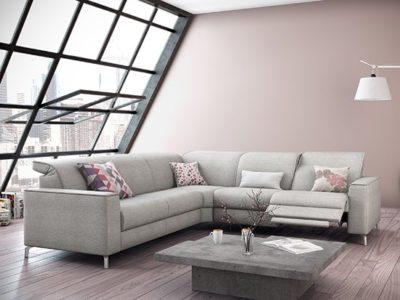 Canapé angle moderne personnalisable Llex