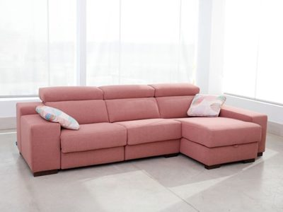 Canapé angle confortable coffre Fama Loto