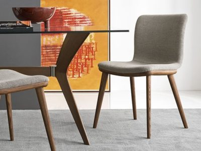 Chaise design contemporain Calligaris Annie