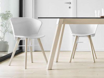 Chaise design polypropylène Calligaris Bahia