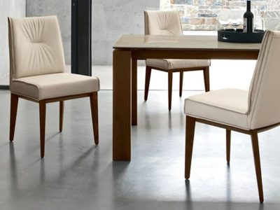 Chaise design salle à manger Calligaris Romy