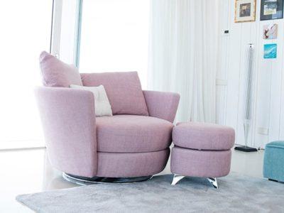 Fauteuil lveuse design Fama Mynest
