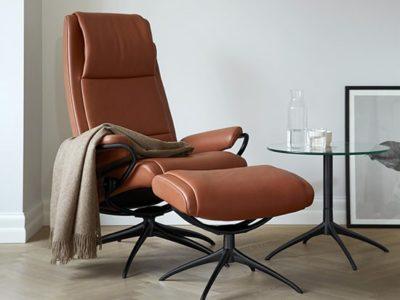 Fauteuil relax manuel design cuir Stressless Paris