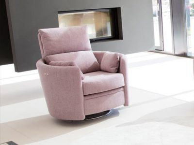 Fauteuil relax rond Fama Venus