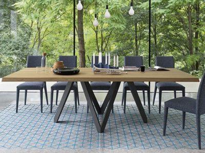 Grande table manger design Calligaris Cartesio