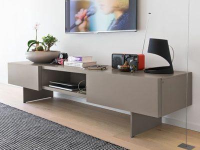 Meuble TV design Calligaris Sipario personnalisable