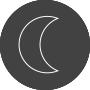 forme demi lune