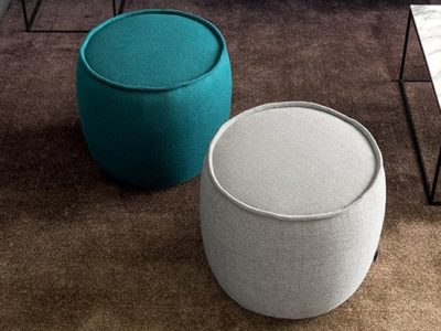 Pouf intérieur rond Calligaris Muffin