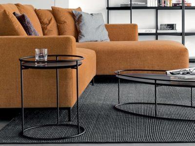 Table basse salon design Calligaris Atollo