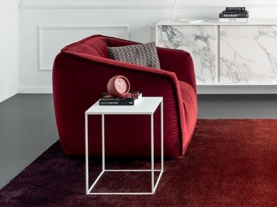 Table d'appoint métal Calligaris Thin