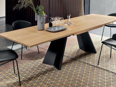 Table design extensible Calligaris Icaro