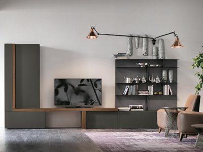 Composition Meuble TV contemporain A063