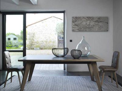 Table industrielle extensible rectangulaire Arti