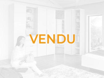 Vendu Armoire d'angle scandinave Celio Loft - Promotion