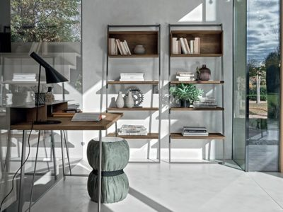 Bibliothèque meuble contemporain Tomasella Movida