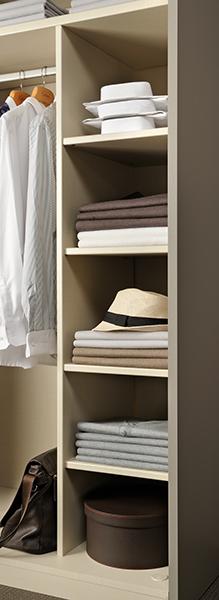 Colonne pull et chemise armoire dressing
