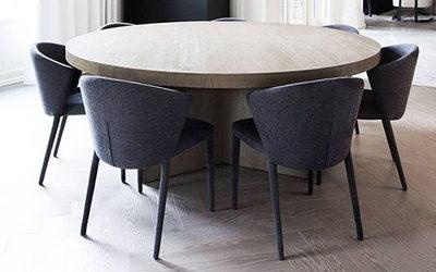 Combien de chaises autour d'une table ?