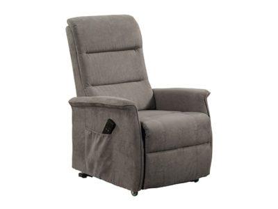 Fauteuil relax et relax 2 moteurs Pega gris