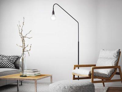 Lampadaire intérieur design min ambiance
