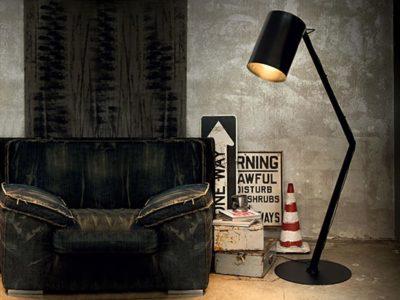 Lampadaire style industriel Binn