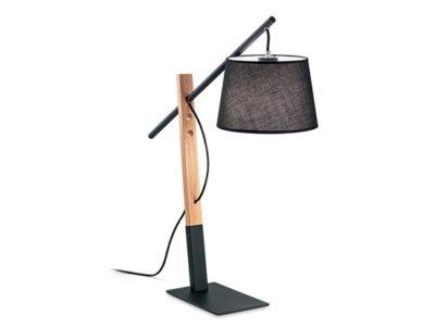 Lampe de chevet scandinave noir Emin