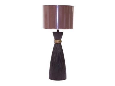 Lampe design marron - Vallon