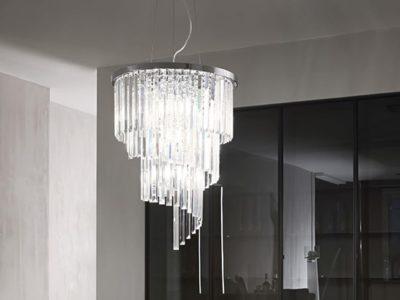 Lustre cristal design Carlt