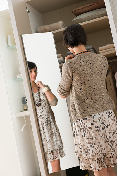 miroir amovible intérieur armoire dressing