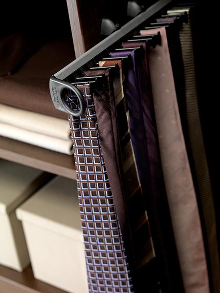 porte cravate coulissant armoire dressing