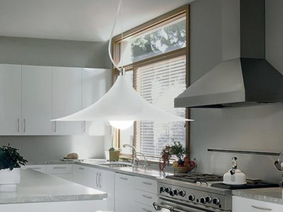 Suspension luminaire salle à manger blanc Mand ambiance