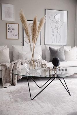 Table basse en verre design Meubles Bouchiquet