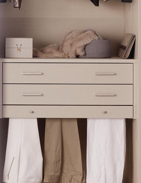 tiroirs armoire dressing