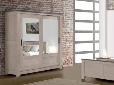 Armoire miroir en bois personnalisable Withney