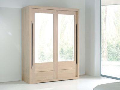 Armoire scandinave portes coulissantes Lilou