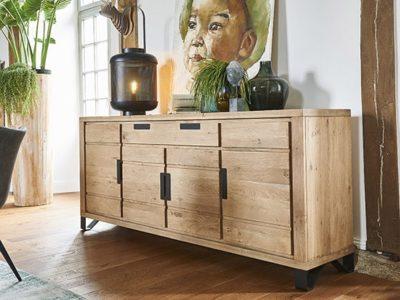 Buffet bois métal style industriel Hudson