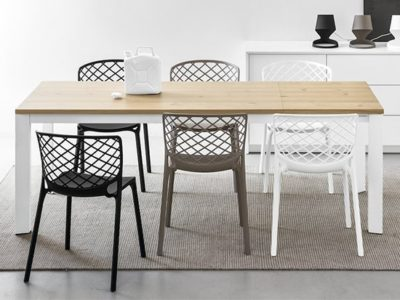 Chaise de cuisine design en polypropylène Gam