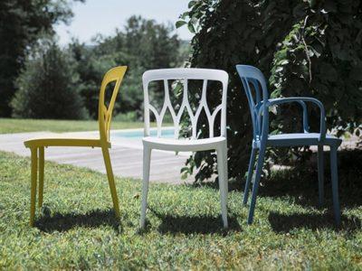Chaise design Bontempi Casa Galaxy
