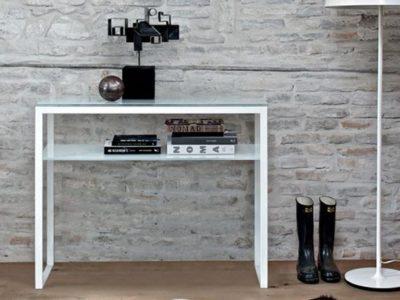 Console extensible meuble avec étagère Hiphop