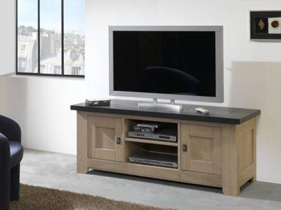Petit meuble TV en bois personnalisable Withney
