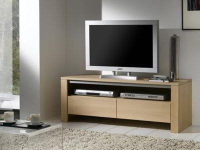 Petit meuble TV moderne en bois personnalisable Yucca