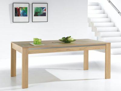 Table avec rallonge en bois Yucca