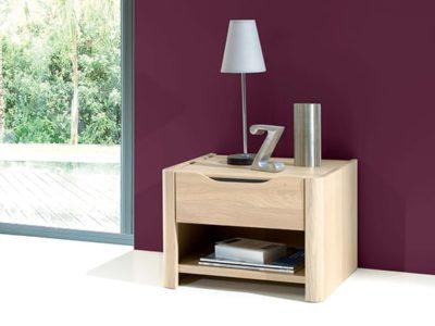 Table de chevet bois avec tiroir Lilou