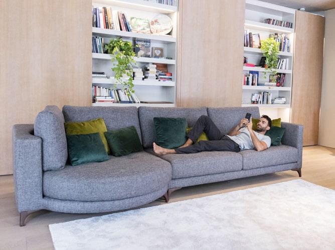 Canapé 3 places moderne Fama Meubles Bouchiquet