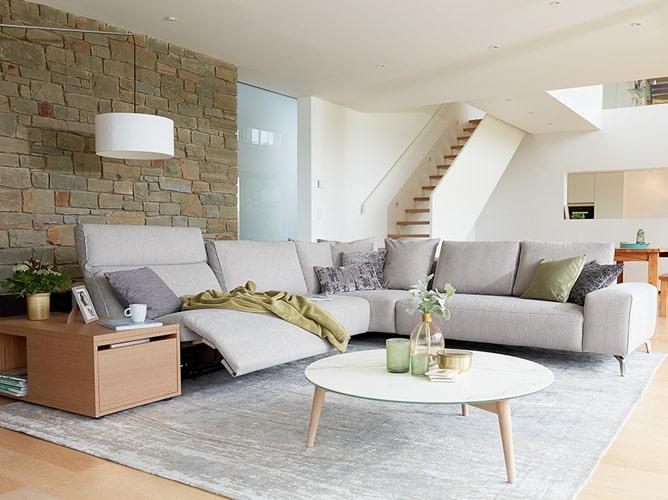 Canapé d'angle scandinave Meubles Bouchiquet