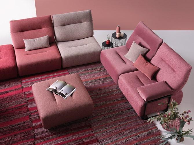 Canapé modulable design meubles Bouchiquet