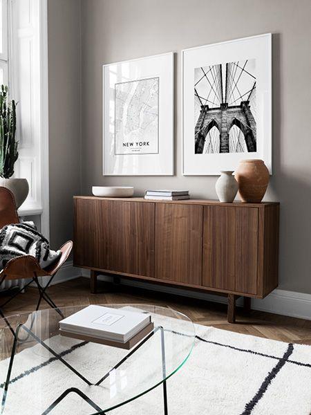 Déco meuble buffet cadre architect Meubles Bouchiquet