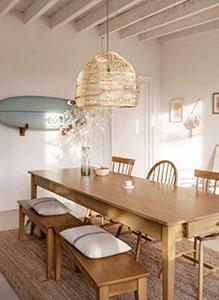 Salle à manger avec banc Meubles Bouchiquet